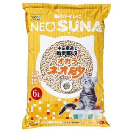 Комкующийся наполнитель для кошек NEO LOO LIFE соевый, с интенсивной защитой от запаха, 6л