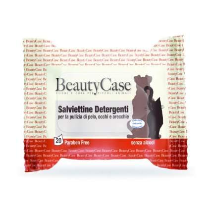 Влажные салфетки для кошек и собак BeautyCase, универсальные, 20 шт.