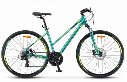 "Велосипед Stels Cross 130 MD Lady V010 2019 20"" green"
