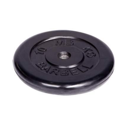 Barbell d 31 мм черный 10,0 кг