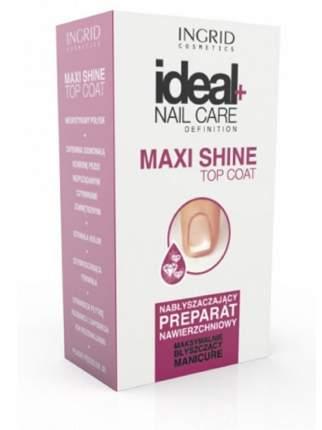 Закрепляющее покрытие для ногтей INGRID Maxi Shine top coat