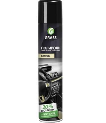 Полироль-очиститель пластика Grass Dashboard глянцевый блеск, ваниль 750 мл 120107-4