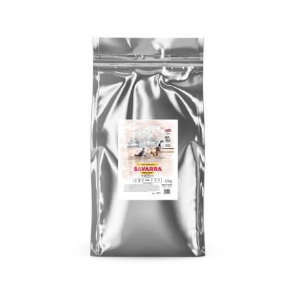 Сухой корм для кошек Savarra Adult Light, диетический, с индейкой и рисом, 12кг