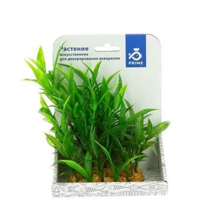 Prime растение пластиковое для аквариума Гигрофила зеленая 15 см