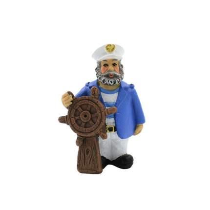 Prime декорация пластиковая Моряк Рулевой Вудман 4,5х3х6,5 см