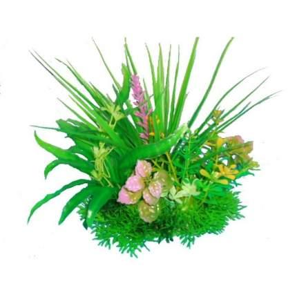 Prime M621 композиция из пластиковых растений для аквариума 15 см