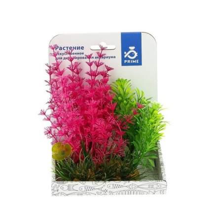 Prime 40103 композиция из пластиковых растений для аквариума 15 см