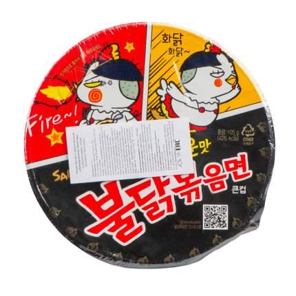 Лапша Samyang быстрого приготовления со вкусом курицы острая 105 г Южная Корея