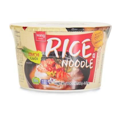 Лапша WANG рисовая со вкусом кимчи 98 г Южная Корея