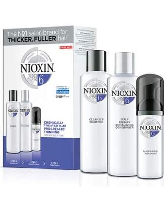 Набор для ухода за волосами NIOXIN система 6 300+300+100 мл