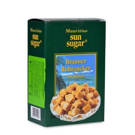 Сахар коричневый тростниковый кусковой, Mauritius, 500 г, Германия