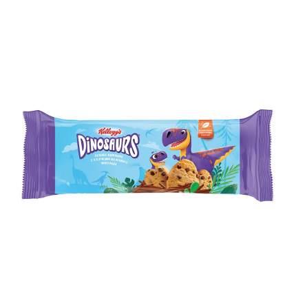 Печенье сдобное Kellogg's Dinosaurs ванильное с кусочками молочного шоколада 180г Россия