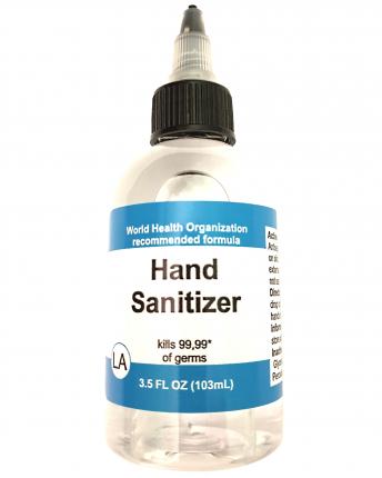 Антисептик для рук Hand Sanitizer LA Cosmetics lab 100 мл