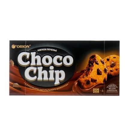 Печенье ORION Мягкое с кусочками натурального шоколада Чокочип 120г Россия