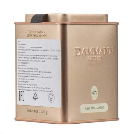Чай зеленый Dammann  Мисс Дамманн 100 г Франция