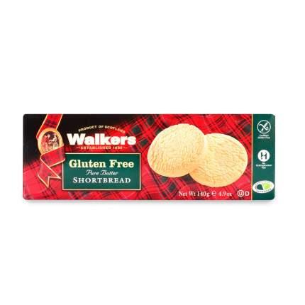 Печенье Walkers Круглое песочное без глютена 140 г Великобритания