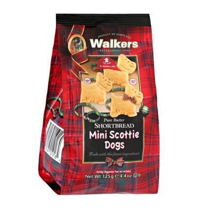 Мини-печенье Walkers Шотландский терьер песочное  125 г Великобритания