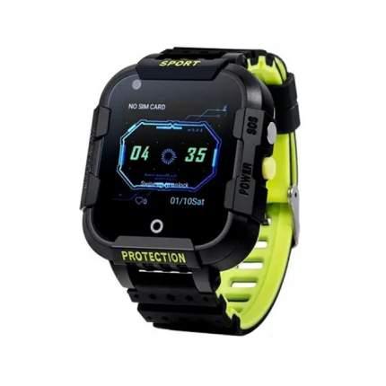 Детские смарт-часы Wonlex Smart Baby Watch KT12 4G Black/Black