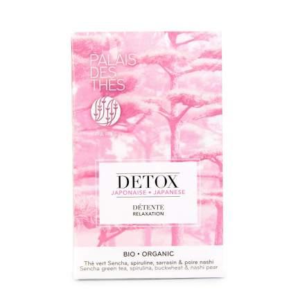 Чай зеленый Palais des Thes DETOX Япония 20х2г в муслиновых пакетах Франция