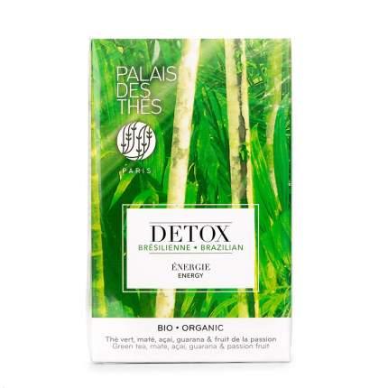 Чай зеленый Palais des Thes DETOX Бразилия 20х2г в муслиновых пакетах Франция