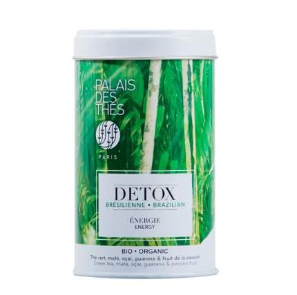 Чай зеленый Palais des Thes DETOX Бразилия 100г ж/б Франция