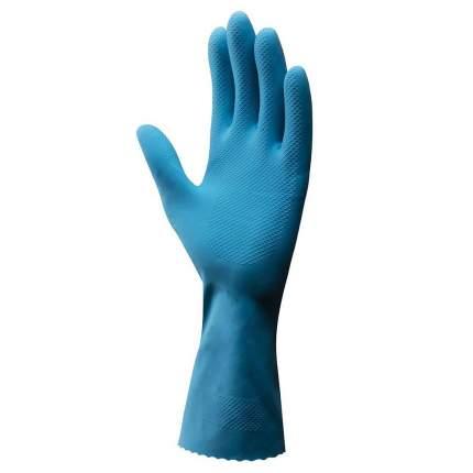 """Перчатки резиновые Vileda """"Комфорт"""" с кремом для чувствительной кожи (размер L)"""