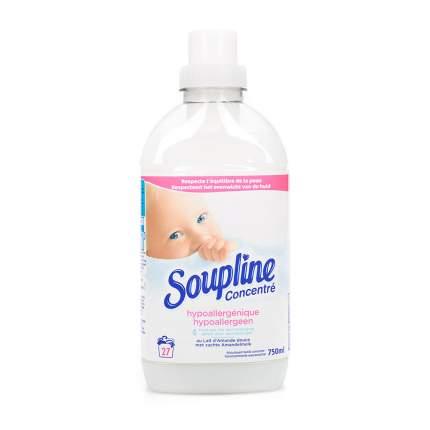 Смягчитель тканей Soupline концентрированный, гипоаллергенный, 27 Доз, 750мл Франция