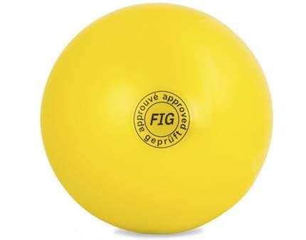 Мяч Fig GC 01, желтый, 19 см