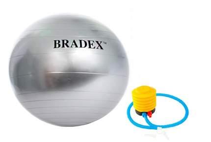 Мяч Bradex Фитбол SF 0381, серебристый, 85 см