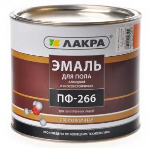 Эмаль ПФ-266 Лакра Красно-коричневый 3кг