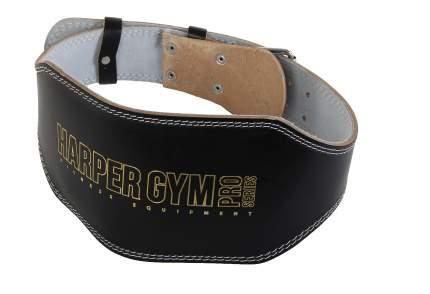 """Пояс для тяжелой атлетики Jabb. Harper Gym"""", черный, L"""