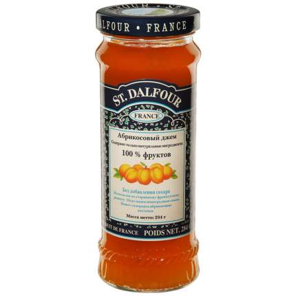 Джем St.Dalfour б/сахара абрикос 284 г Франция