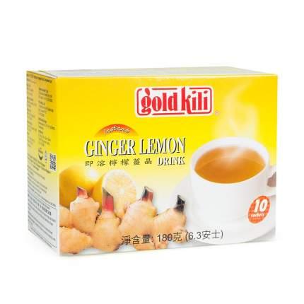 Напиток имбирный с мёдом Gold Kili,10 х 18 г Сингапур