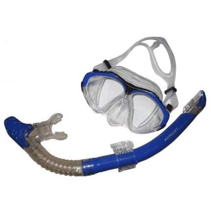 Маска для плавания Submarine Shark 50 синяя