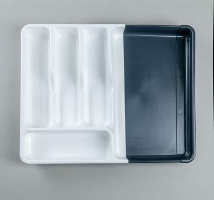 Лоток для хранения столовых приборов раздвижной, 35 x 30 x 5 см