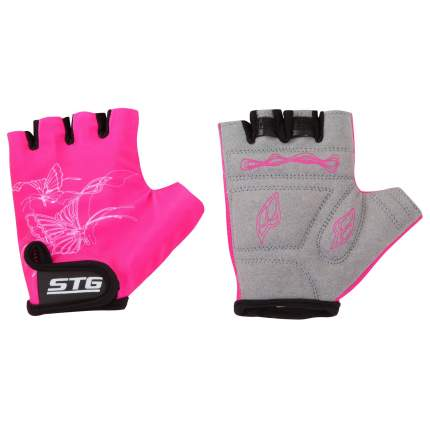 Велоперчатки STG Х61898, pink, S