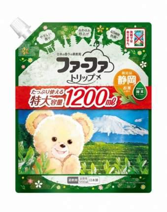 Концентрированный кондиционер для белья NS FaFa Trip Shidzuoka мягкая упаковка 1200 мл