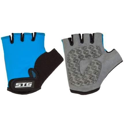 Велоперчатки STG Х87905, blue, M