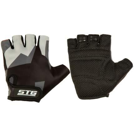 Велоперчатки STG Х87904, black/grey, M