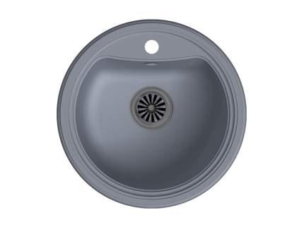 Мойка для кухни комбинированная Ewigstein Antik R50 серый металлик