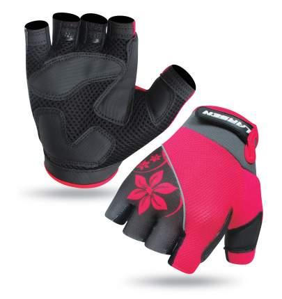 Велоперчатки Larsen 01-1262, розовые (размер S)