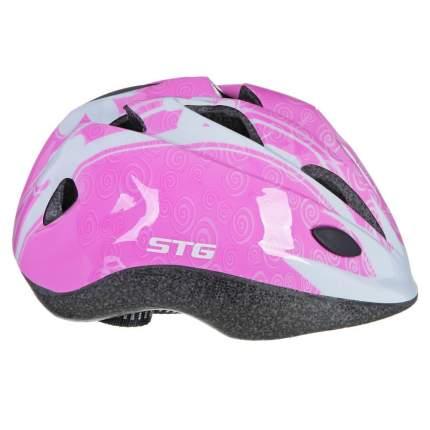 Велосипедный шлем STG Х66770, pink, M