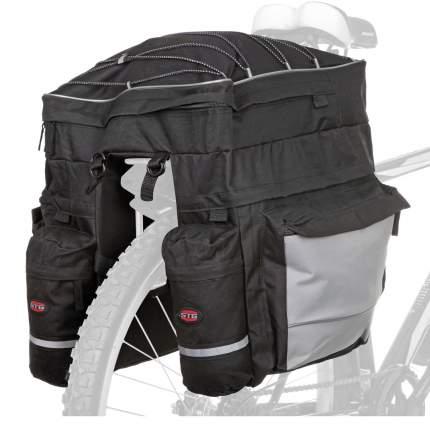 Велосипедная сумка STG Х68726-5 черная