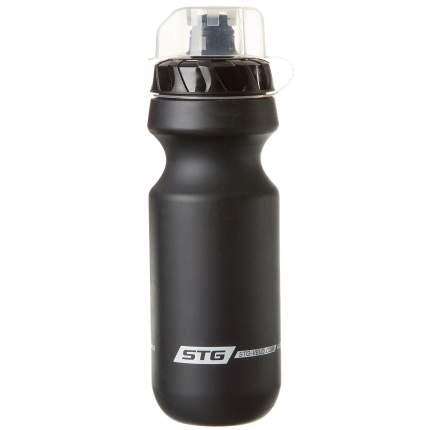 """Велофляга STG """"CSB-542M"""", 600 мл, черная с крышкой"""
