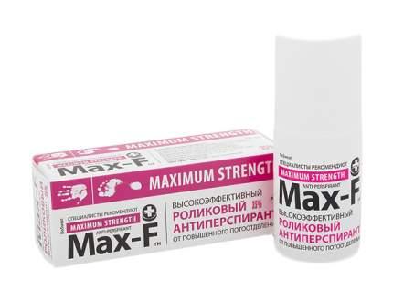 Дезодорант для ног MAX-F Maximum Strengh NoSweat 35 % 50 мл