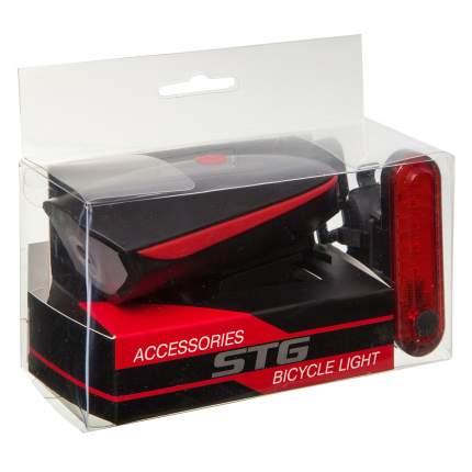 Комплект велосипедных фонарей Stg FL1544A+BCTL5477