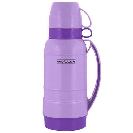 """Термос со стеклянной колбой 25018/15 """"Webber"""", 1,8 л, цвет: фиолетовый"""