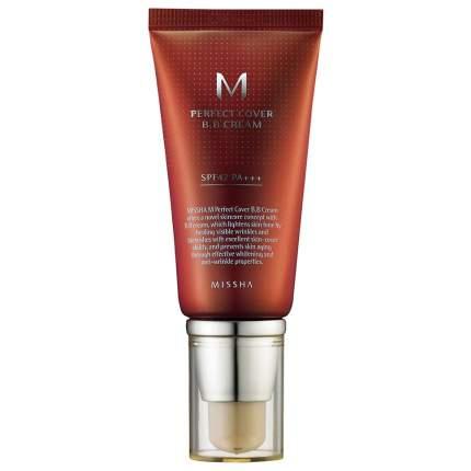 BB крем MISSHA M Perfect Cover BB Cream 27 Honey Beige 50 мл