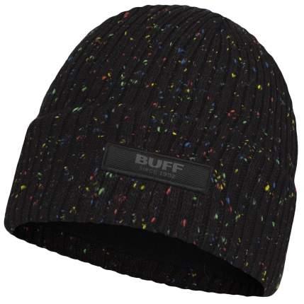 Шапка Buff Jr Knitted & Fleece Hat Jorg, black