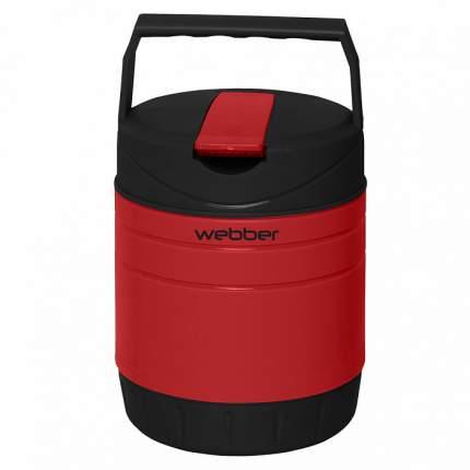 """Термос пищевой """"Webber"""" 24009/1Р, 1 л, цвет: красный, черный"""